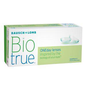 Bausch & Lomb Biotrue ONEday +5.00 journalières 30 lentilles de contact Bausch & Lomb +5.00 Nesofilcon A - Publicité