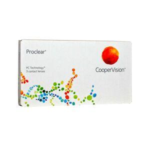 CooperVision Proclear -11.0 mensuelles 3 lentilles de contact CooperVision -11.0 Omafilcon B II - Publicité
