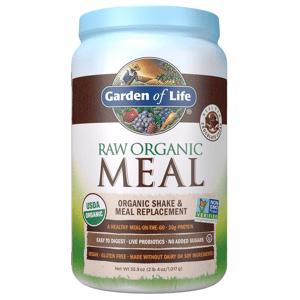 Garden of Life Raw Organic Shake Tout-en-Un - Chocolat - 1017g - Publicité