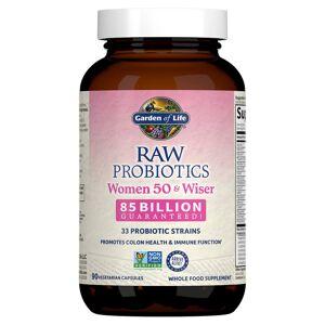 Garden of Life Raw Microbiomes pour les femmes de 50 et + - Rafraîchissant - 90 gélules - Publicité