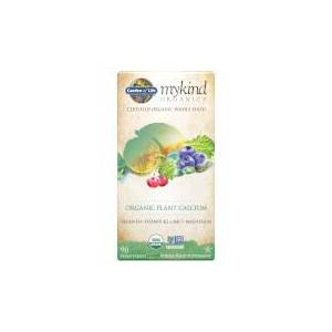 Garden of Life mykind Organics Calcium Végétal - 90 Comprimés - Publicité