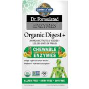 Garden of Life Enzymes Digestives - Fruits Tropicaux - 90 Comprimés à Croquer