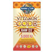 Garden of Life Vitamine D3 5000 Iu de Vitamine Code - 60 gélules