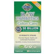 Garden of Life Raw Microbiome Soin du Côlon - 30 gélules