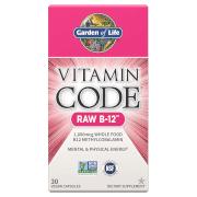Garden of Life Vitamine B-12 de Vitamin Code - 30 gélules