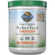 Garden of Life Poudre Revitalisante Raw Organic Perfect Food - Yerba Mate et Grenade - 276g