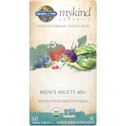 Garden of Life mykind Organics Multivitamines Hommes 40+ - 60 Comprimés