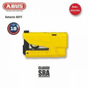 ABUS Antivol Bloque-disque ABUS 8077 Granit Detecto X-Plus yellow - Publicité