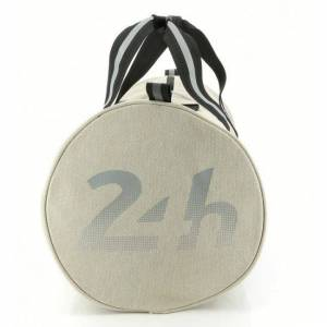 24H Le Mans LEGENDE - Sac forme polochon beige - Publicité