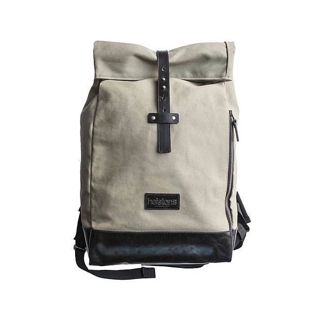 Helstons SAC A DOS BACK PACK CITY Textile/Cuir-HELSTONS