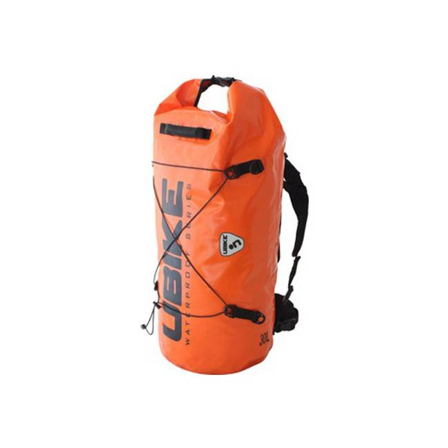 Ubike SAC ETANCHE ORANGE CYLINDER BAG 30L UBIKE
