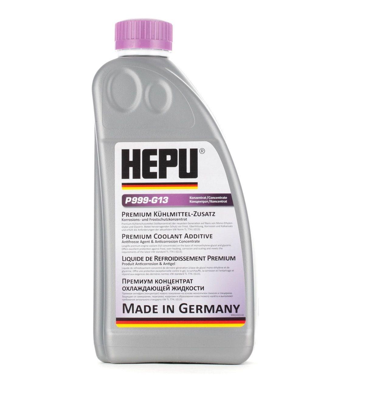HEPU Antigel P999-G13 AUDI,VW,SKODA,A3 8P1,A3 Sportback 8PA,A4 8K2, B8,A4 Avant 8K5, B8,Q5 8R,A6 4F2, C6,Q7 4L,A5 8T3,A6 Avant 4F5, C6,A1 8X1, 8XF