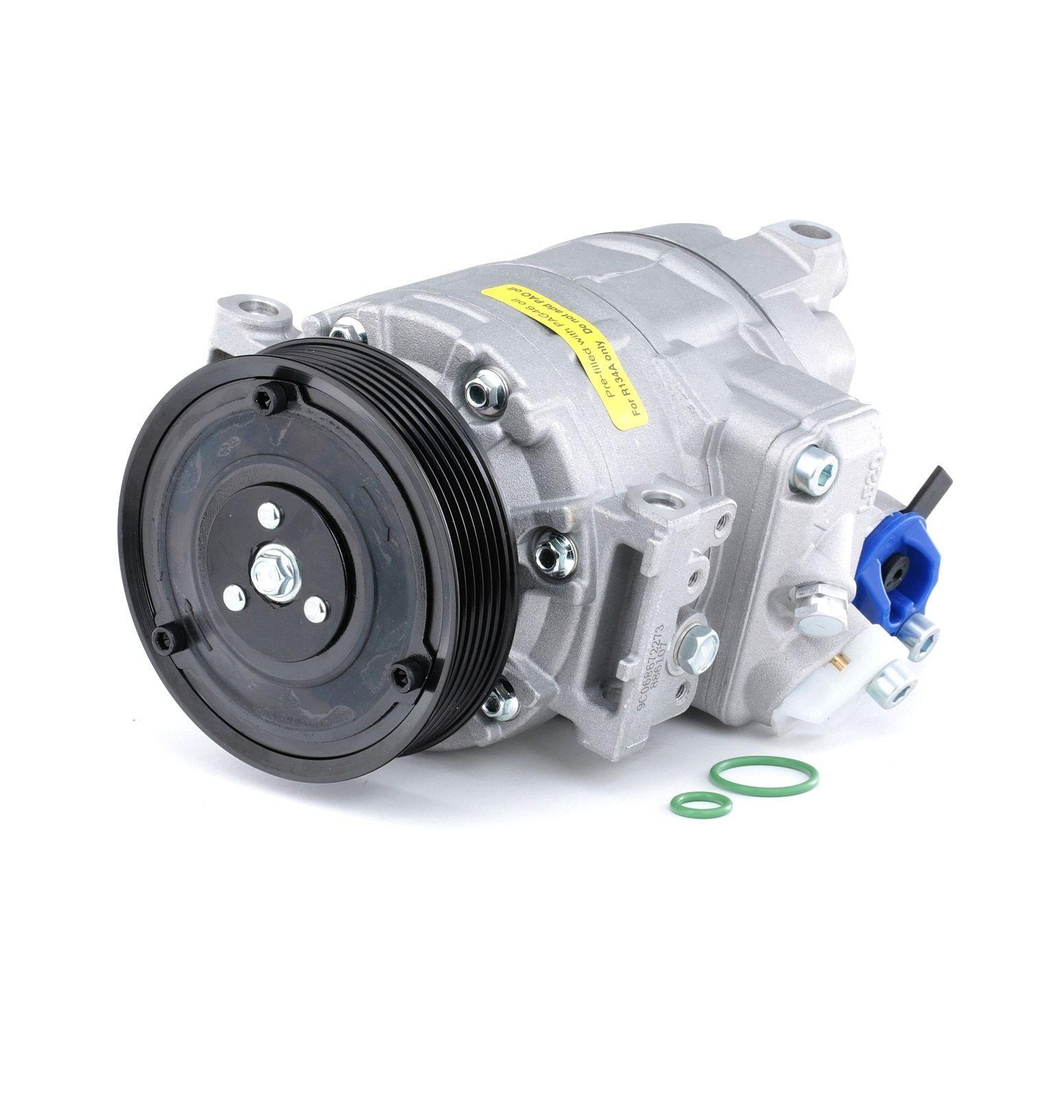 NISSENS Compresseur De Climatisation 890632 Compresseur De Clim,Compresseur, climatisation VW,AUDI,SKODA,GOLF V 1K1,TOURAN 1T1, 1T2,GOLF VI 5K1