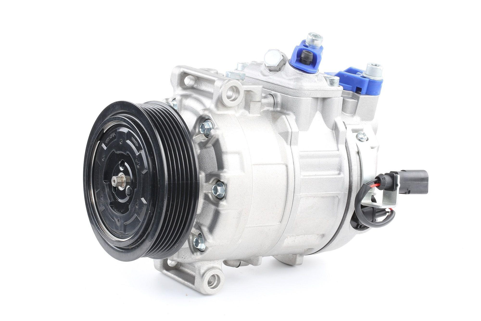 RIDEX Compresseur De Climatisation 447K0004 Compresseur De Clim,Compresseur, climatisation VW,AUDI,SKODA,GOLF V 1K1,TOURAN 1T1, 1T2,GOLF VI 5K1