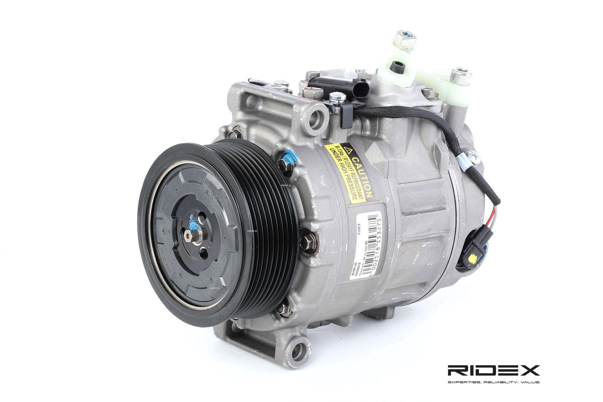 RIDEX Compresseur De Climatisation 447K0029 Compresseur De Clim,Compresseur, climatisation MERCEDES-BENZ,CLASE M W164,CLASE R W251, V251,CLASE S W221