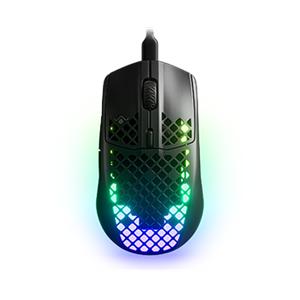 steelseries Aerox 3 Souris Gaming ultra légère avec câble détachable USB-C et résistance à l'eau AquaBarrier™ (Gaming Mouse) - Publicité