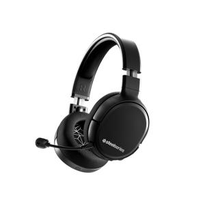 SteelSeries Arctis 1 Wireless Casque audio Gaming sans fil, avec micro amovible à élimination de bruit ClearCast (Wireless Gaming Headset) - Publicité