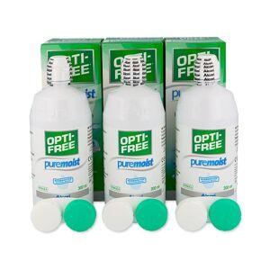 OPTI-FREE PureMoist 3×300ml - Publicité
