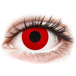 ColourVUE Crazy Lens - Red Devil - journalières non correctrices - Publicité
