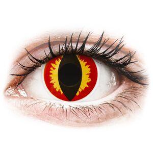 ColourVUE Crazy Lens - Dragon Eyes - journalières non correctrices - Publicité