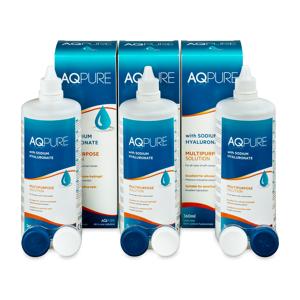 AQ Pure Solution 3 x 360ml - Publicité