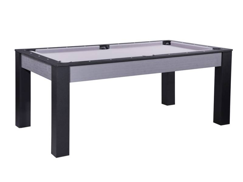 Mon-Billard.com Billard convertible Delhi Gris 7FT