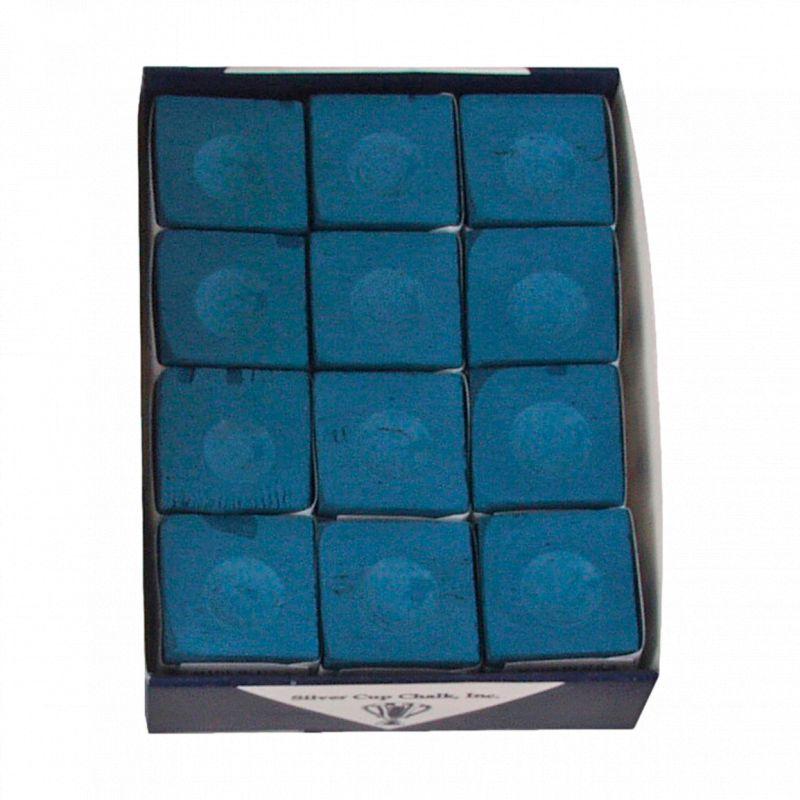 Silver Cup Boite de 12 craies Silvercup bleues