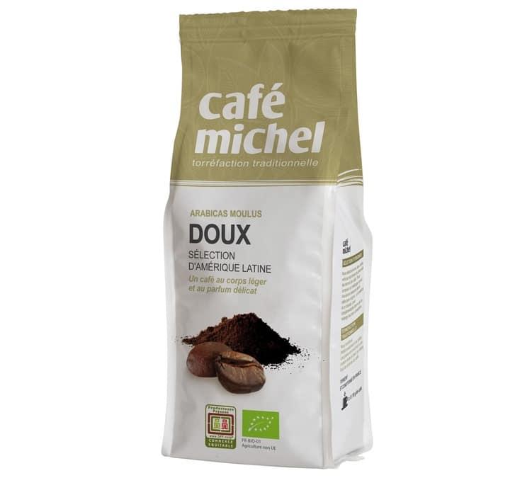 Café Michel Café moulu bio Mélange Doux - 250g - Café Michel - Sélection Verte (Bio) - Café Bio - Bio