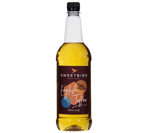 Sweetbird Sirop Sweetbird - English Toffee - 1L - Sans OGM