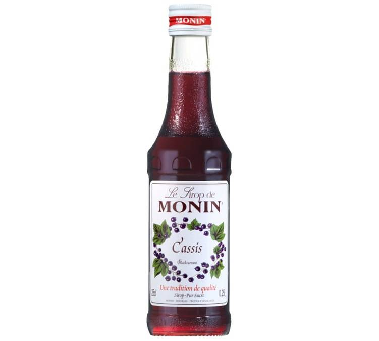 Monin Sirop Monin - Cassis - 25cl