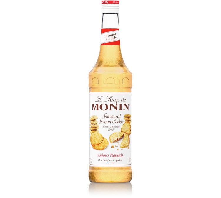 Monin Sirop Monin - Cookie Cacahuète - 70 cl - Sans conservateur