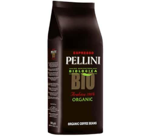 Café Pellini Café en grains Pellini Bio 100% Arabica - 500g - Sélection Rouge (Italien) - Café de Grandes Marques - Bio