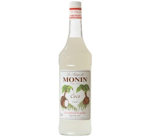 Monin Sirop Monin - Coco - 1 L - Arômes naturels