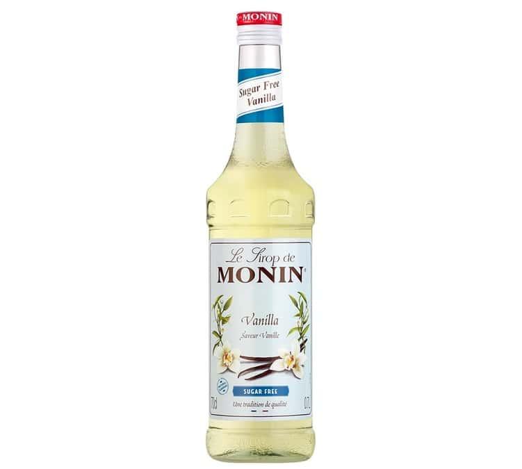 Monin Sirop Monin - Vanille sans sucre - 70cl - Arômes naturels