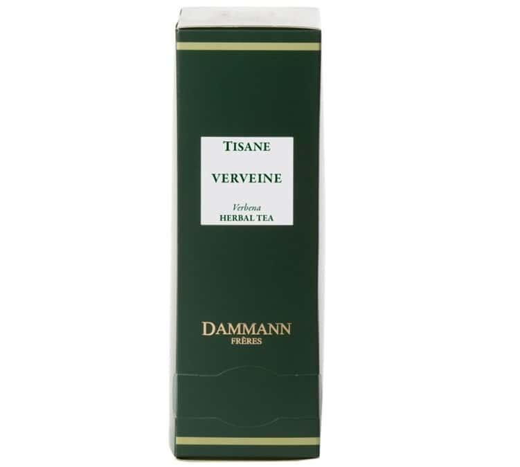 Dammann Frères - Tisane Verveine Herboristerie d'Orgeval - boîte de 24 sachets