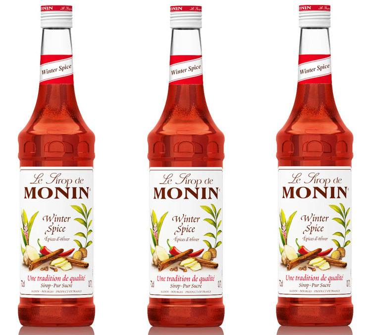 Monin Lot De 3 Sirops Monin - Epices D'hiver - 3 X 70cl