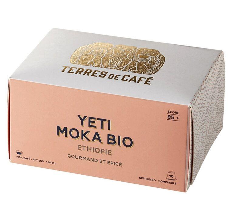 Terres de Café Capsules Yeti bio Ethiopie x10 Terres de Café Pour Nespresso - Ethiopie
