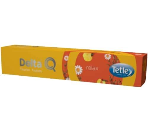 Delta Cafés - Capsules Delta Q Relax Tisanes x 10