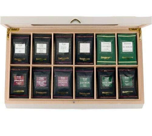 Dammann Frères Coffret Thé - Palace - 72 Sachets De 12 Parfums - Dammann Frères