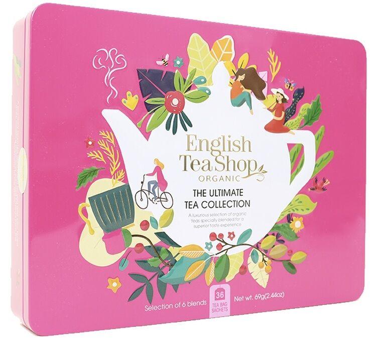 English Tea Shop Coffret The Ultimate Tea Collection 36 sachets de 6 saveurs- English Tea Shop - Bio