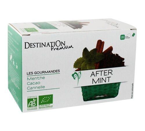 Destination Tisane After Mint Bio - 20 sachets fraicheurs - Destination - Bio