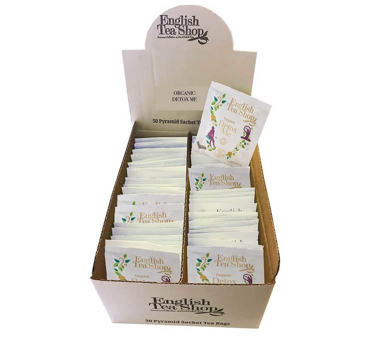 English Tea Shop Tisane Detox me - 50 sachets Pyramides individuels - English Tea Shop - Bio