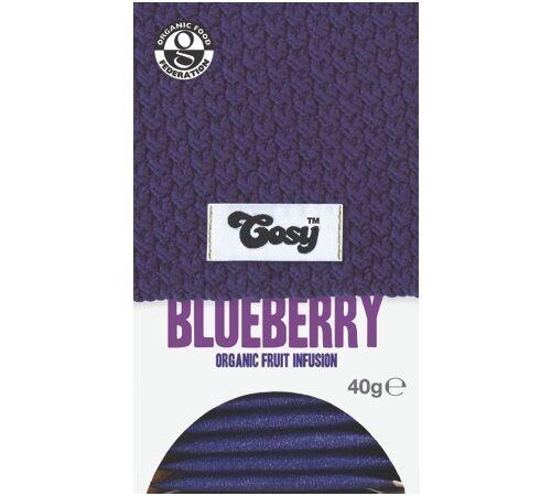 Cosy Tea - Infusion bio BlueBerry (myrtille) - 20 sachets fraicheurs - Cosy - Bio