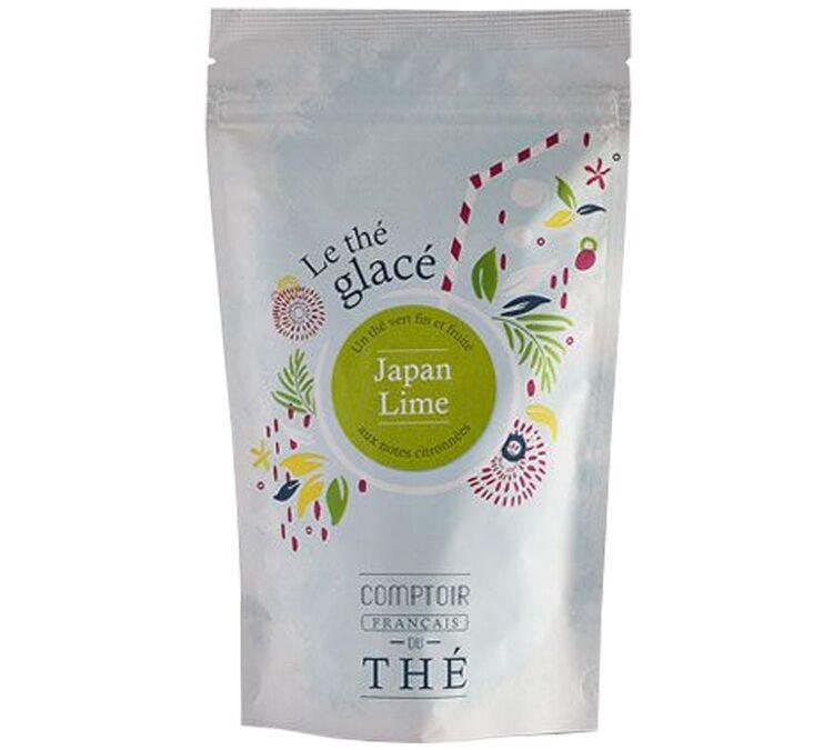 Comptoir Français du Thé Thé Glacé Japan Lime - 10 Pyramides - Comptoir Français Du Thé