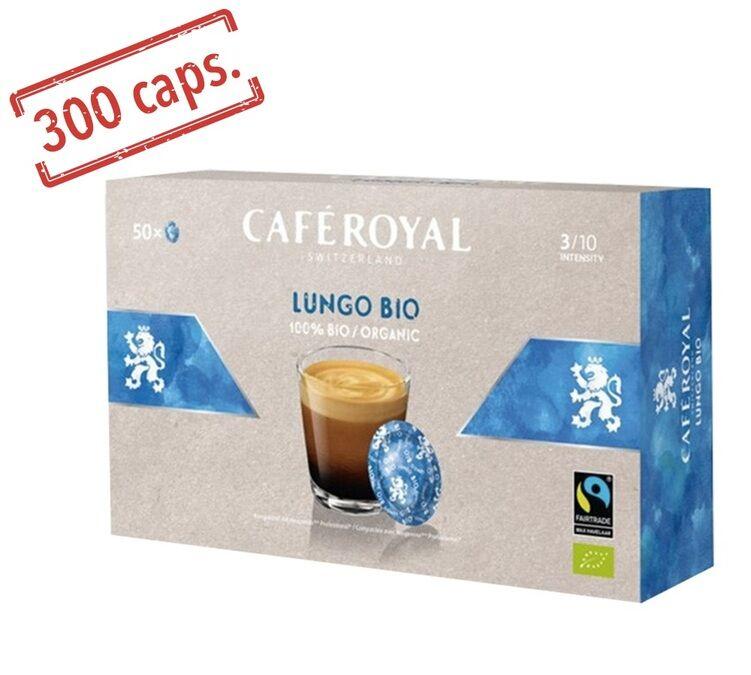 Café Royal Dosettes compatibles Nespresso® pro Espresso Lungo Bio x 300 - Café Royal Office Pads - Bio