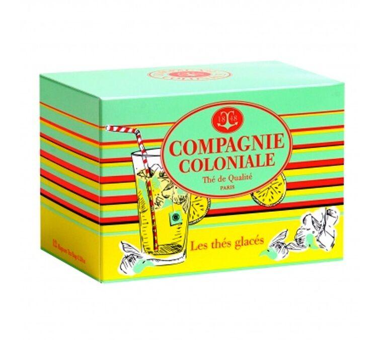 Compagnie Coloniale Selection N°1 - Boite De 12 Sachets Magnum 8g De Thé Glacé Fruité - Compagnie Coloniale