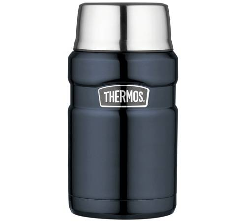 Thermos Lunch box isotherme inox Thermos King bleu nuit 71 cl - Thermos - 71.0000 cl