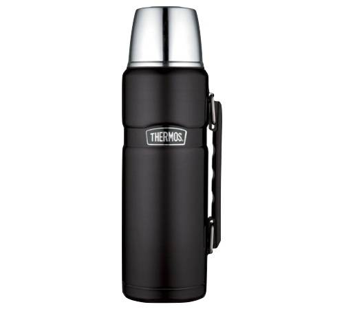 Thermos Bouteille isotherme Inox Thermos King 1,2L noir mat - Thermos - 120.0000 cl