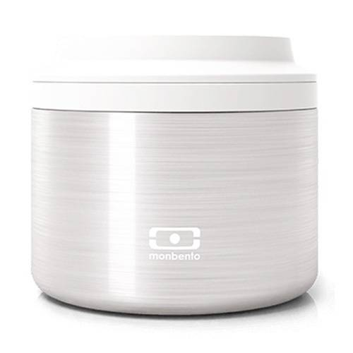 MonBento Lunch Box Isotherme Monbento Element Silver 0,65 L - 65.0000 cl