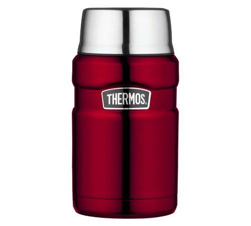 Thermos Lunch box isotherme inox Thermos King rouge 71 cl - Thermos - 71.0000 cl